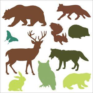 woodland-animals-909285_1280